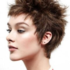 tchip short layered hair