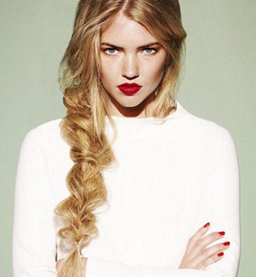 Účes pre dlhé vlasy 2014