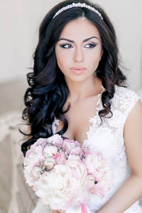 svadobné účesy, svadobný účes, svadba