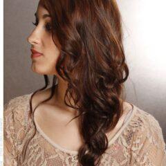 Letný účes pre dlhé vlasy