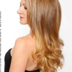 Nádherné Vyfúknuté Dlhé Vlasy